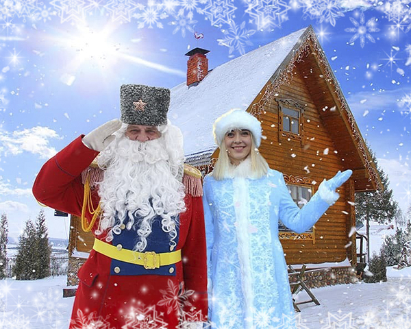 К Деду Морозу на Линию Сталина {type}