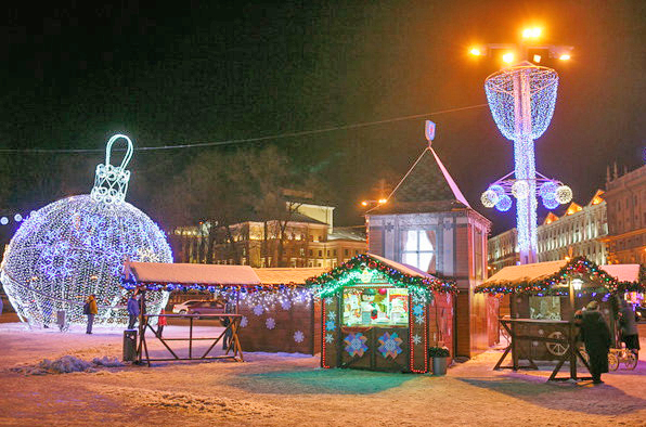 All paints of Christmas Minsk and Nesvizh castle (4 days) {type}