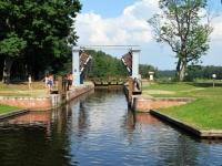 Августовский канал - шлюз Домбровка