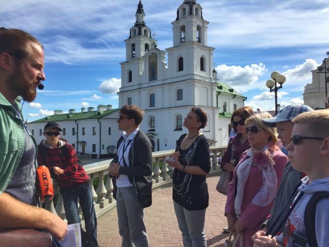 Бесплатная пешеходная экскурсия по Минску