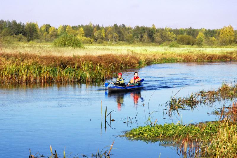 Водный сплав в Беларуси