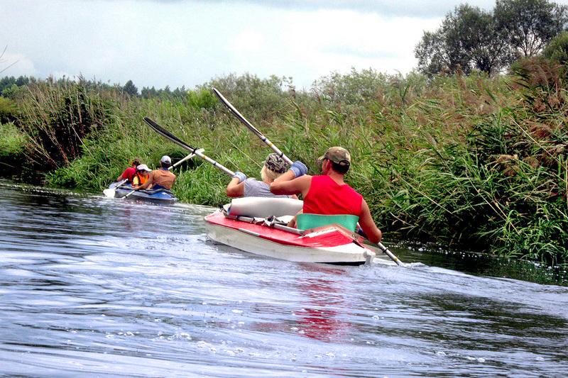 Rafting in Belarus